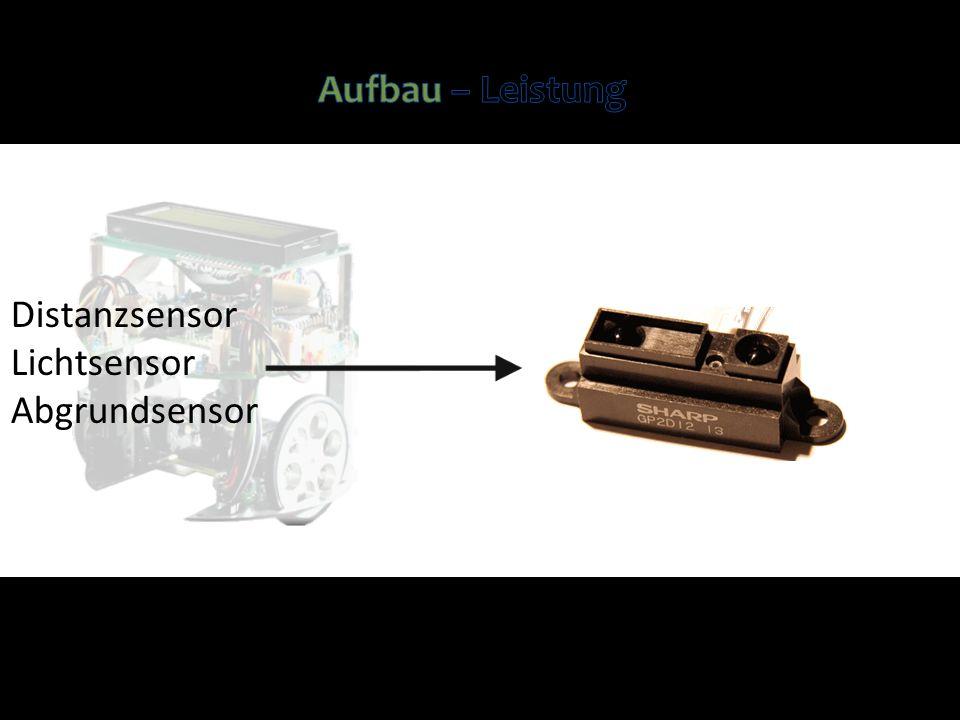 Distanzsensor Lichtsensor Abgrundsensor