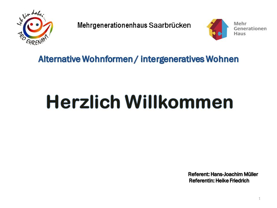 Mehrgenerationenhaus Saarbrücken 1