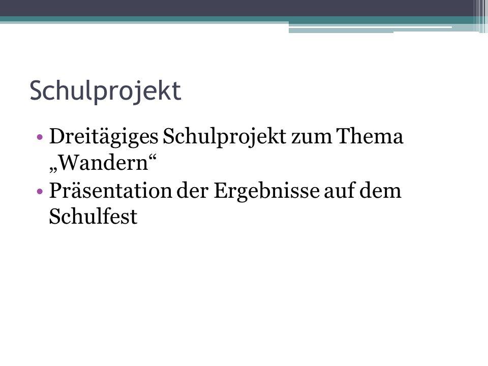 Themenbereich Pilgern Mögliche Umsetzung in der Gruppe (8.