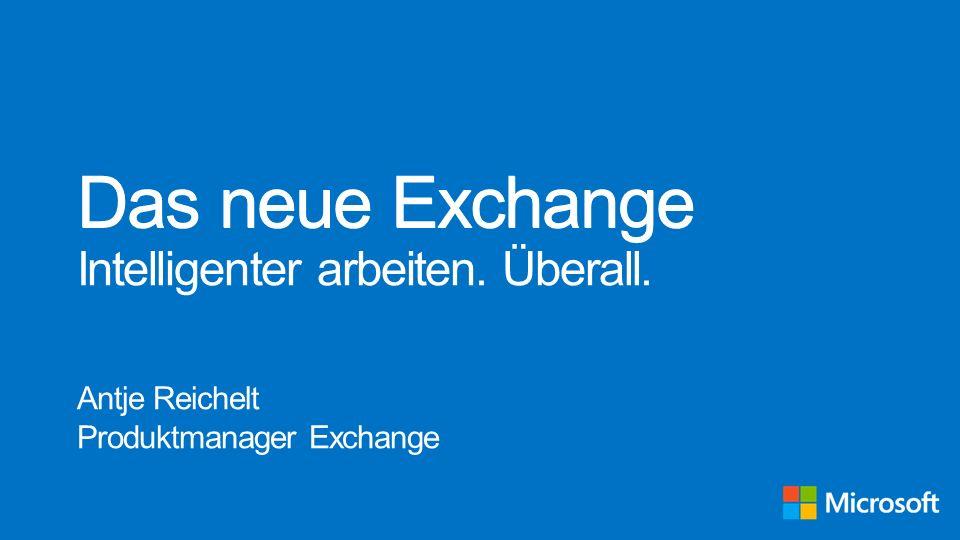 Antje Reichelt Produktmanager Exchange