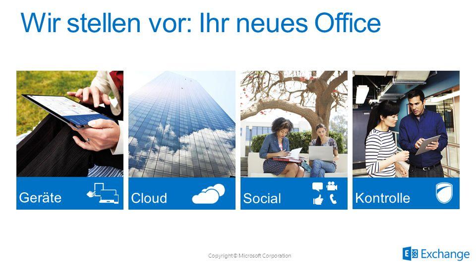 Copyright© Microsoft Corporation Apps für Office