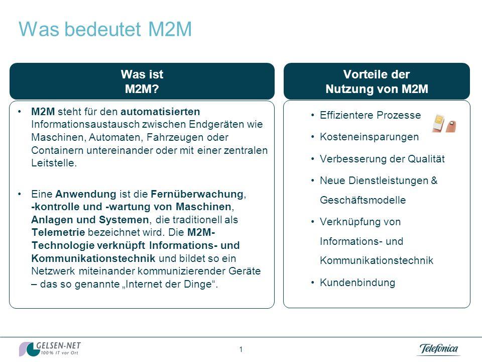 Telefónica Germany M2M