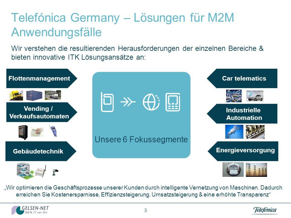 Der M2M Markt 2 Der drahtlose M2M-Markt wird von 2,3 Mio SIM-Karten im Jahr 2010 auf schätzungsweise 5,0 Mio.