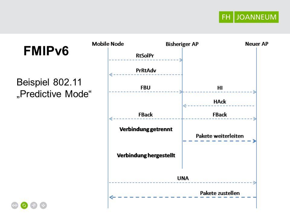 MIPv6 Software Implementierungen / Softwareverfügbarkeit für optimierter Versionen teilweise noch mangelhaft fmipv6.org, hmip,..