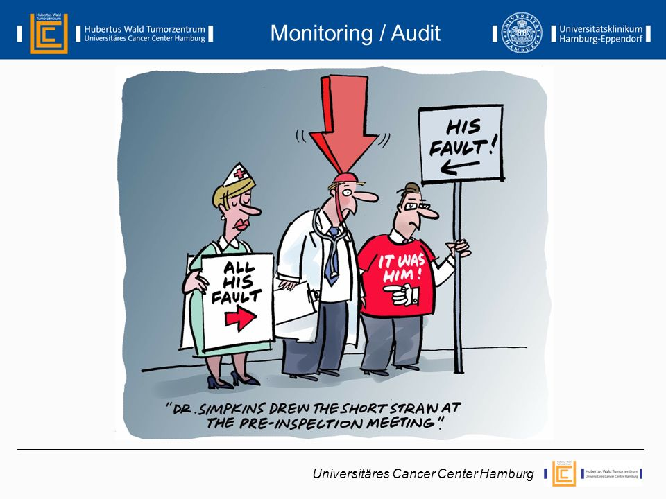 Universitäres Cancer Center Hamburg Monitoring / Audit