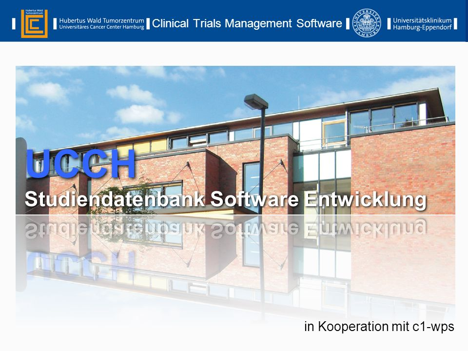 Clinical Trials Management Software in Kooperation mit c1-wps