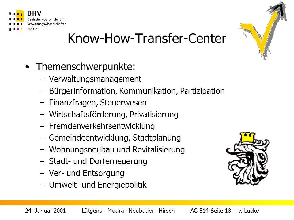 24.Januar 2001 Lütgens - Mudra - Neubauer - Hirsch AG 514 Seite 18 v.
