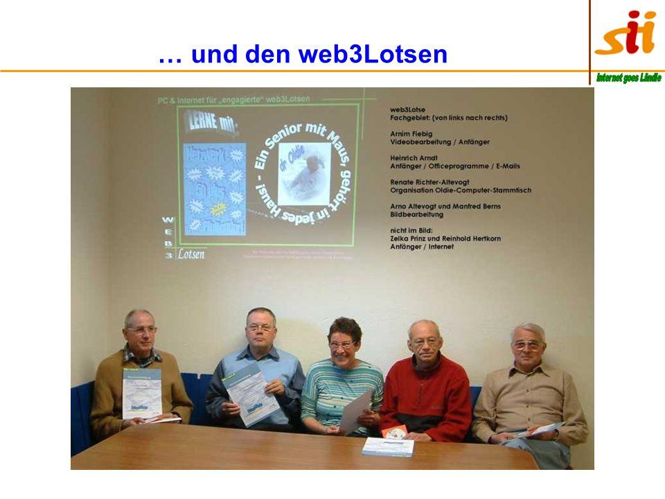 … und den web3Lotsen