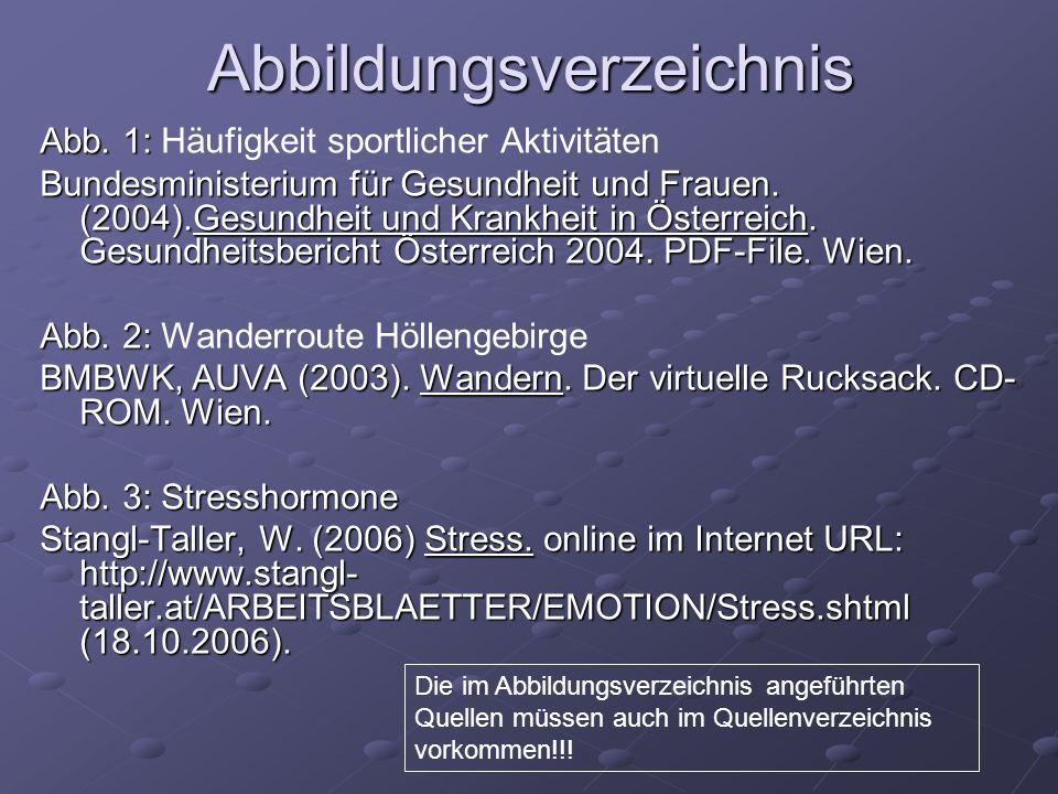 Abb. 1: Abb. 1: Häufigkeit sportlicher Aktivitäten Bundesministerium für Gesundheit und Frauen. (2004).Gesundheit und Krankheit in Österreich. Gesundh