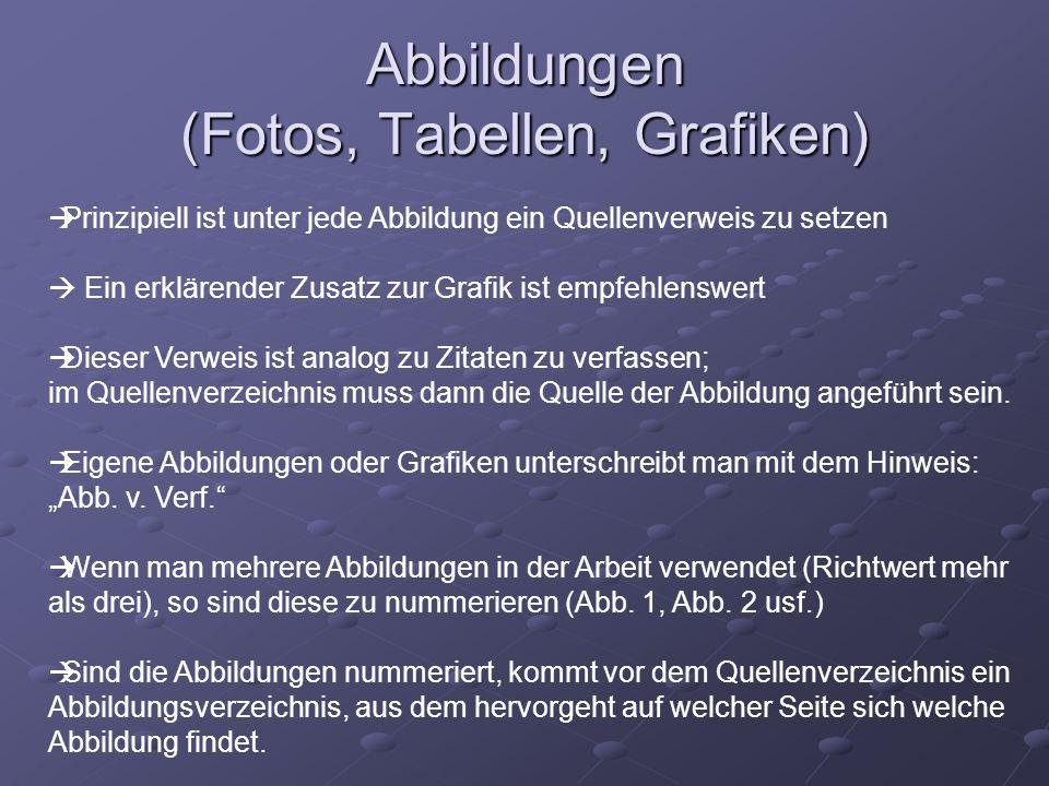 Beispiele zu Abbildungen Abb.