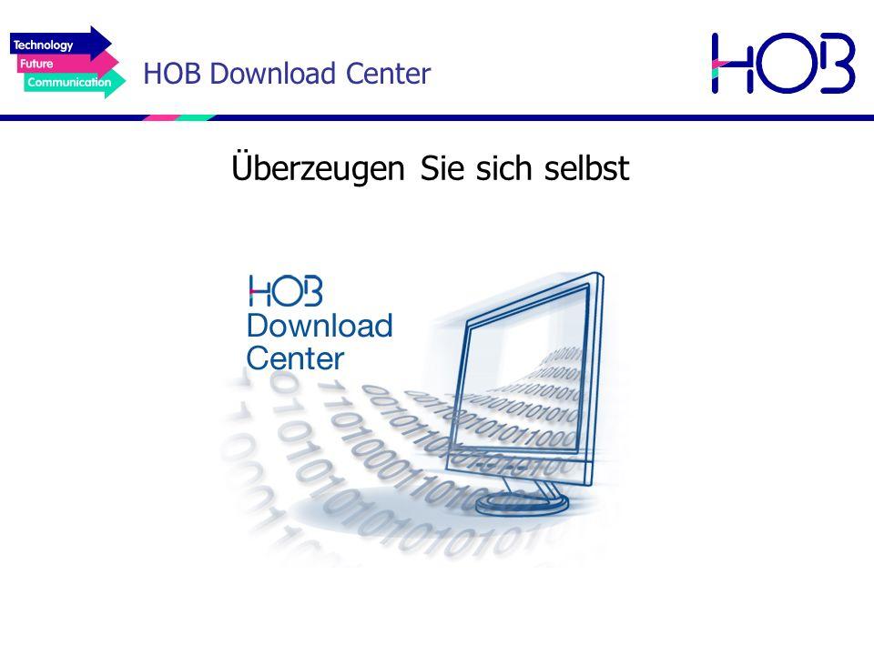 HOB Download Center Überzeugen Sie sich selbst