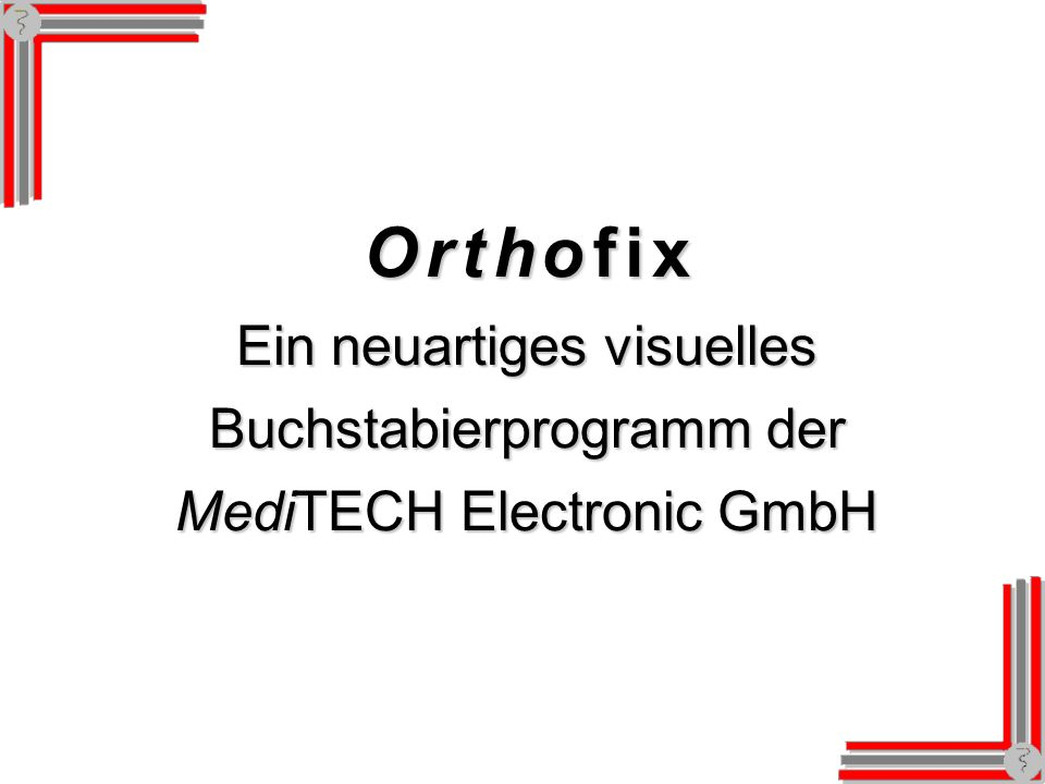 Testkonfiguration: Optik Unterschiedliche Hintergründe können gewählt werden.