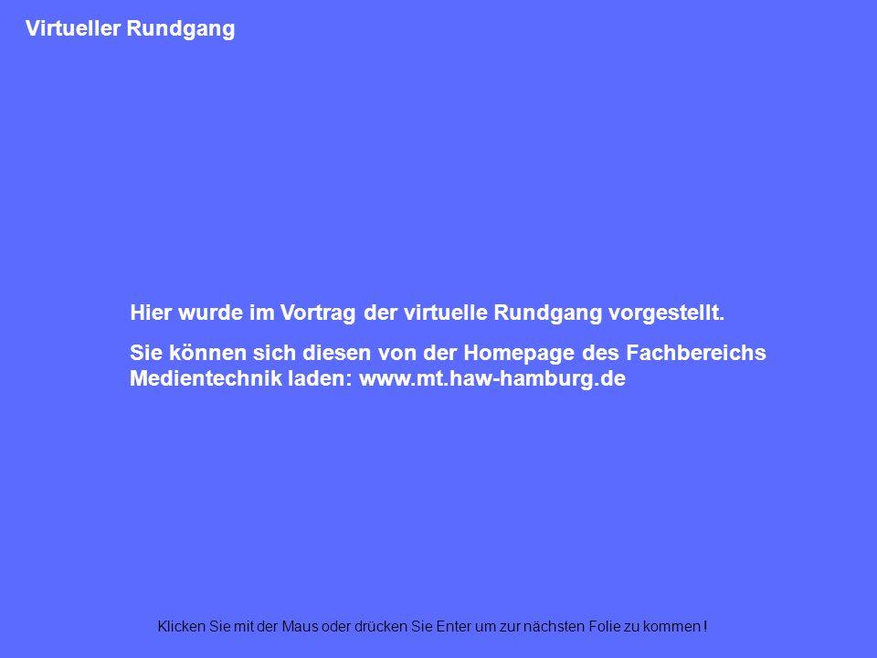 Panoramafenster Navigations- leiste Textbereich Navigationskarte Videofenster Exit Titelleiste
