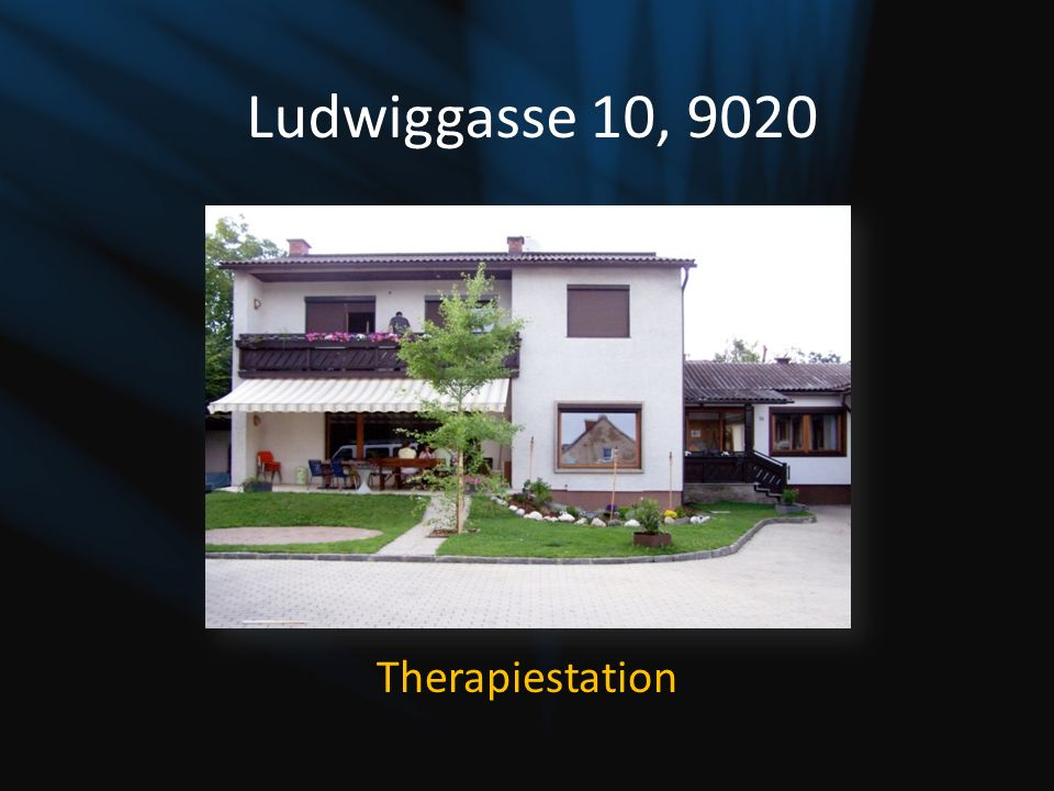 Ludwiggasse 10, 9020 Therapiestation