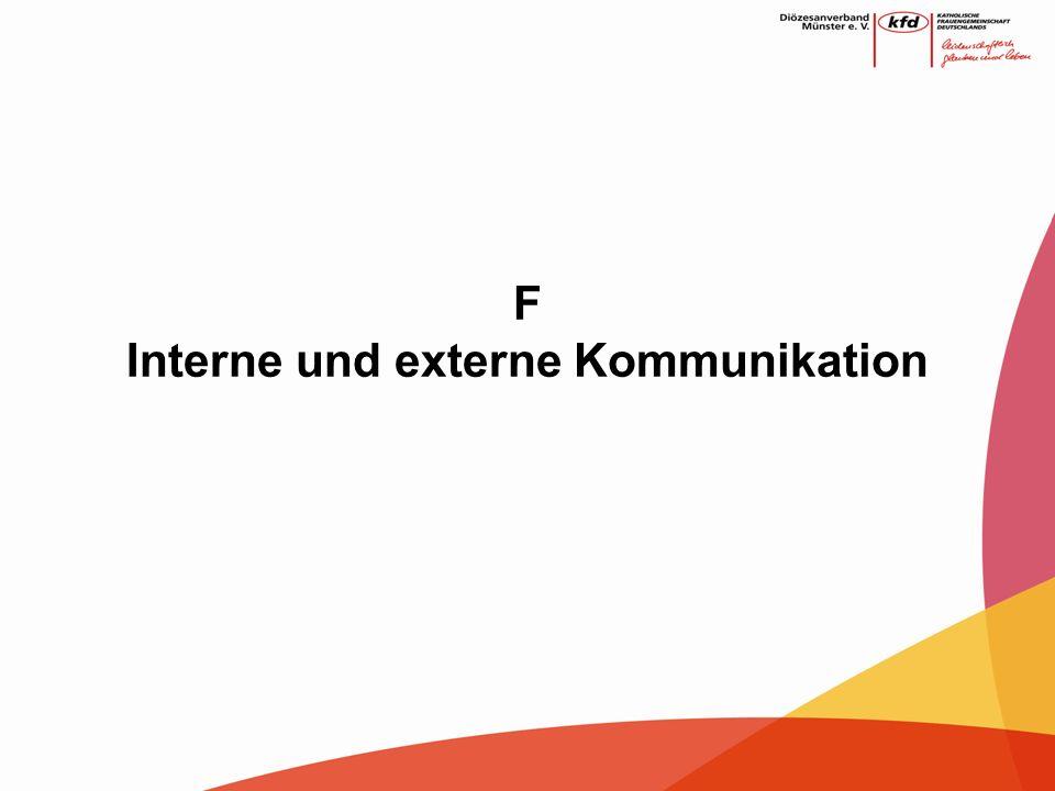 F Interne und externe Kommunikation