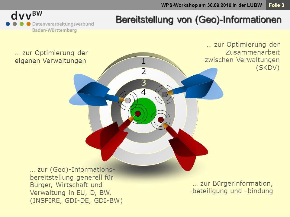 Folie 24 WPS-Workshop am 30.09.2010 in der LUBW Technische Interoperabilität - Zugangsbeschränkungen -Datenschutz -Lizenzen -...