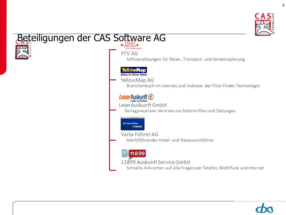 4 PTV AG Softwarelösungen für Reise-, Transport- und Verkehrsplanung YellowMap AG Branchenbuch im Internet und Anbieter der Filial-Finder-Technologie