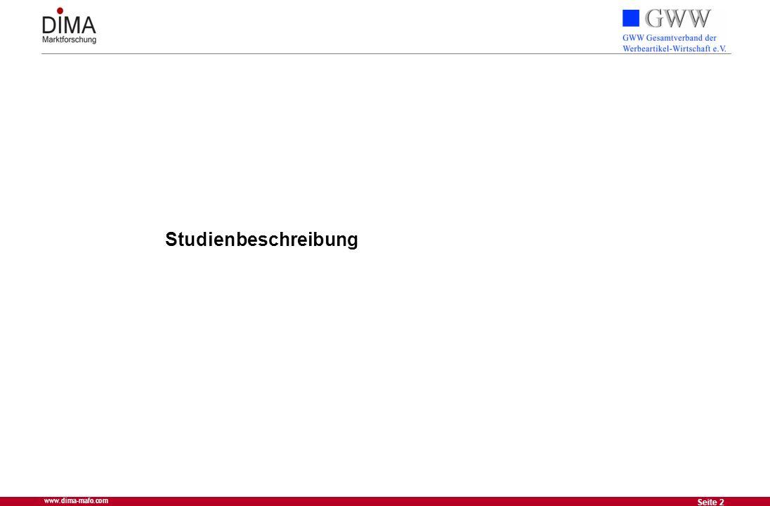 2 Seite 2 www.dima-mafo.com Studienbeschreibung