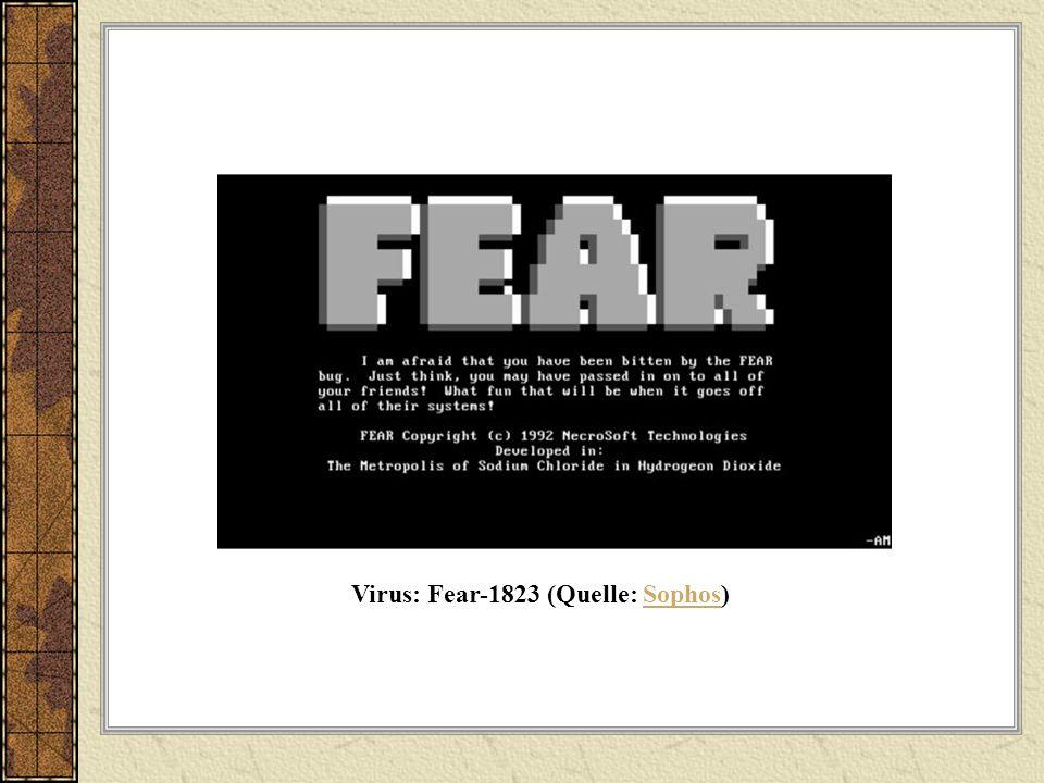 Virus: Fear-1823 (Quelle: Sophos)Sophos