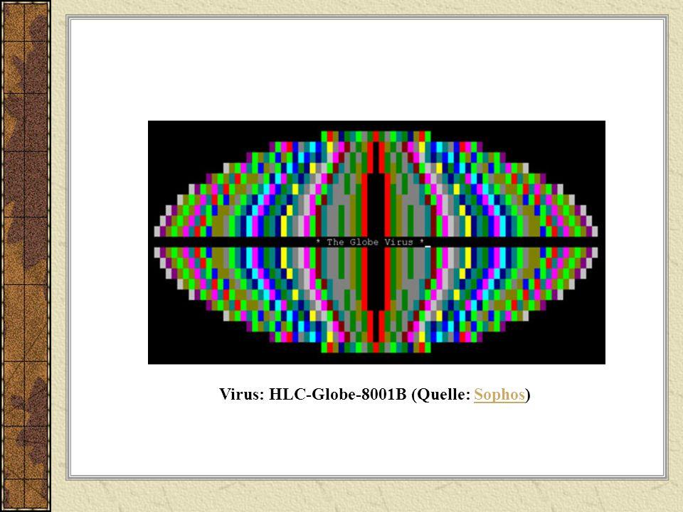 Virus: HLC-Globe-8001B (Quelle: Sophos)Sophos