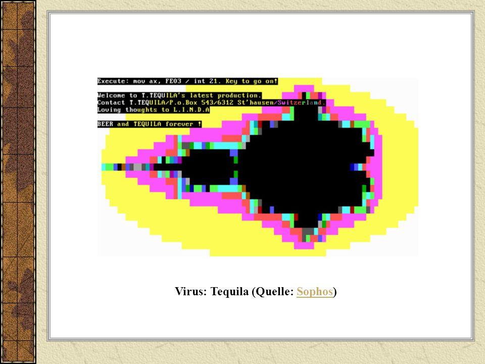 Virus: Tequila (Quelle: Sophos)Sophos
