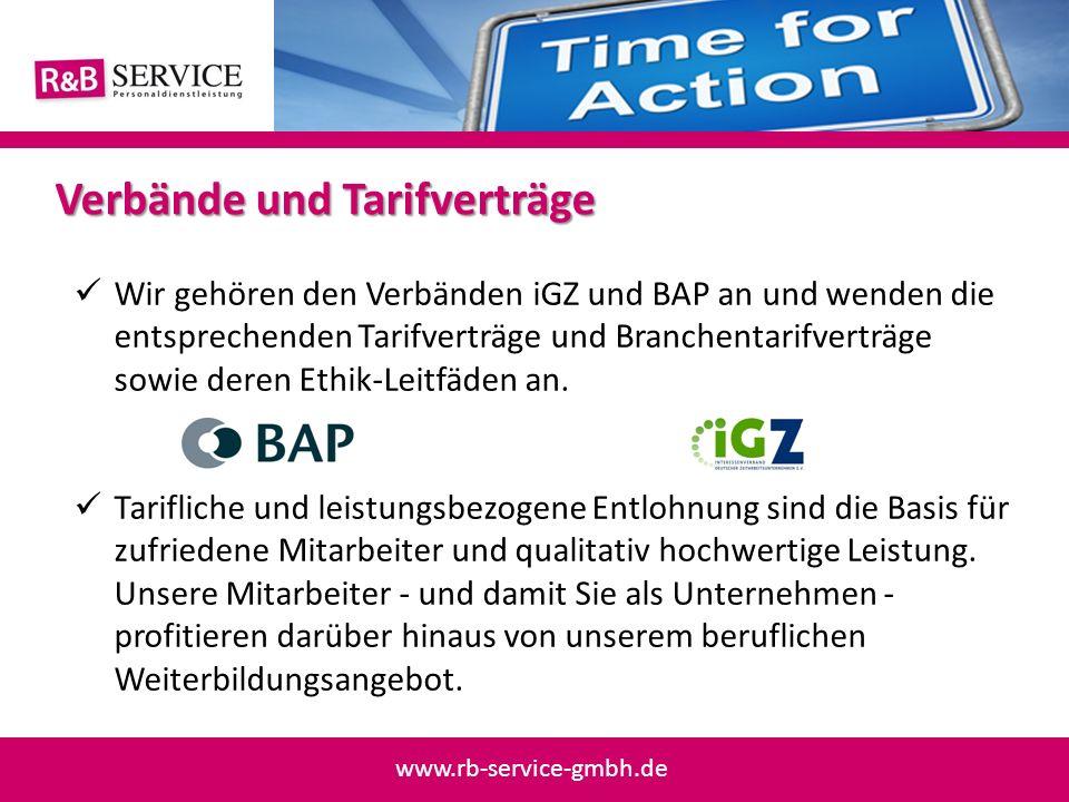 Wir gehören den Verbänden iGZ und BAP an und wenden die entsprechenden Tarifverträge und Branchentarifverträge sowie deren Ethik-Leitfäden an. Tarifli