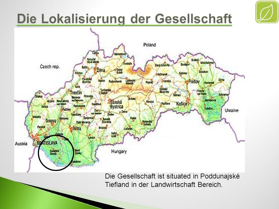 Die Gesellschaft ist situated in Poddunajské Tiefland in der Landwirtschaft Bereich.