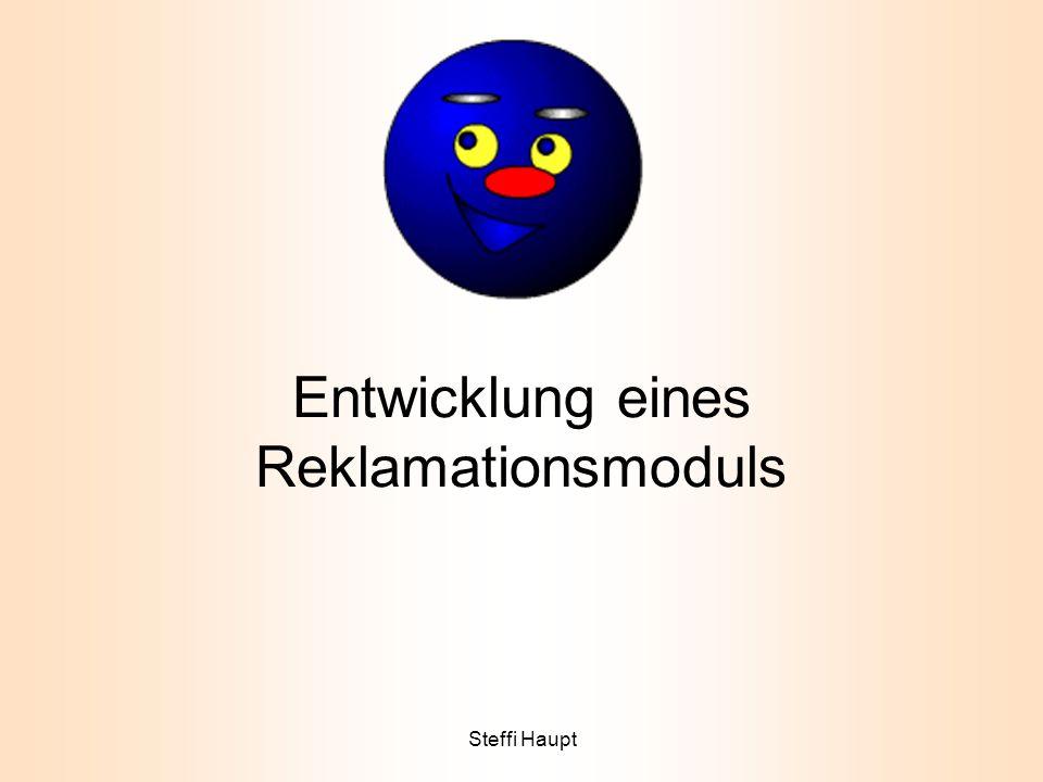 Inhalt PROJEKT IST-ANALYSE SOLL-KONZEPT WIRTSCHAFTLICHKEIT PROBLEMLÖSUNG FAZIT 3tt.mm.jjjjSteffi Haupt