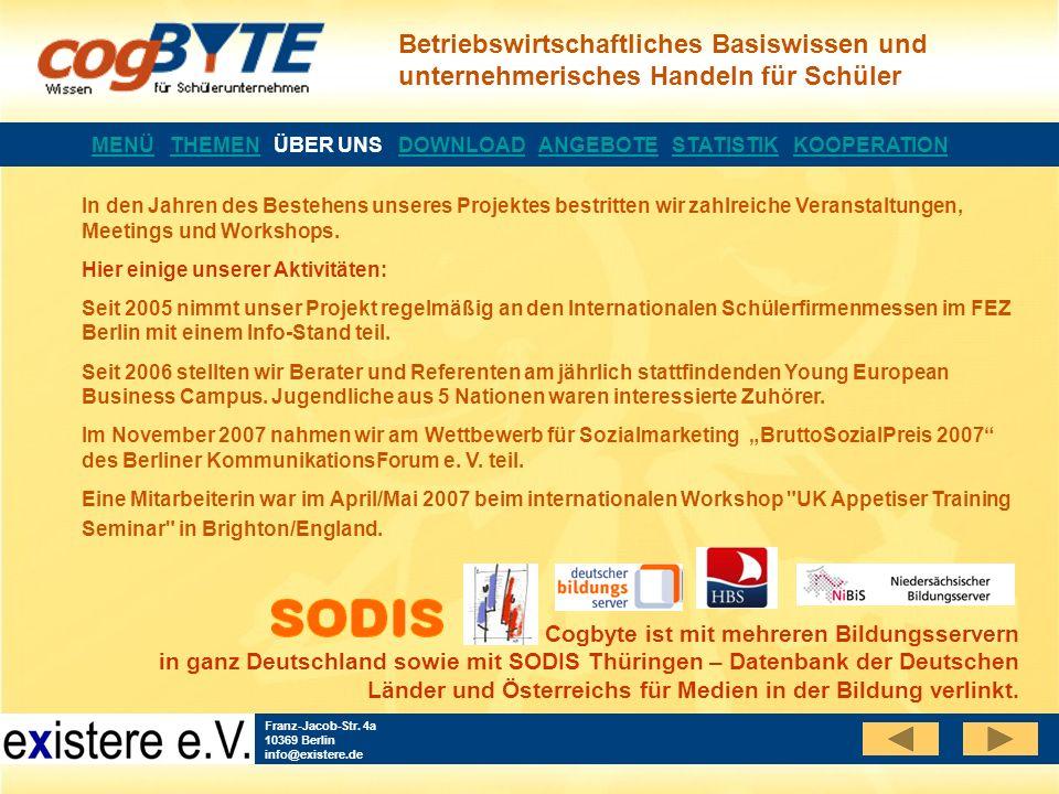 Betriebswirtschaftliches Basiswissen und unternehmerisches Handeln für Schüler Franz-Jacob-Str.