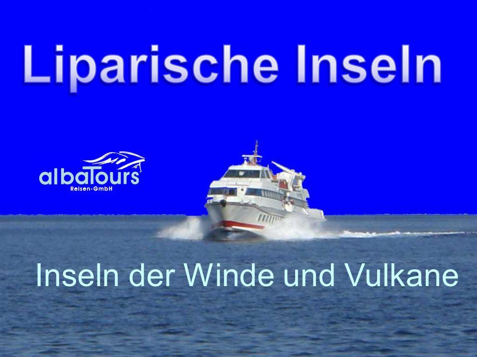 Liparische Inseln Inseln der Winde und Vulkane