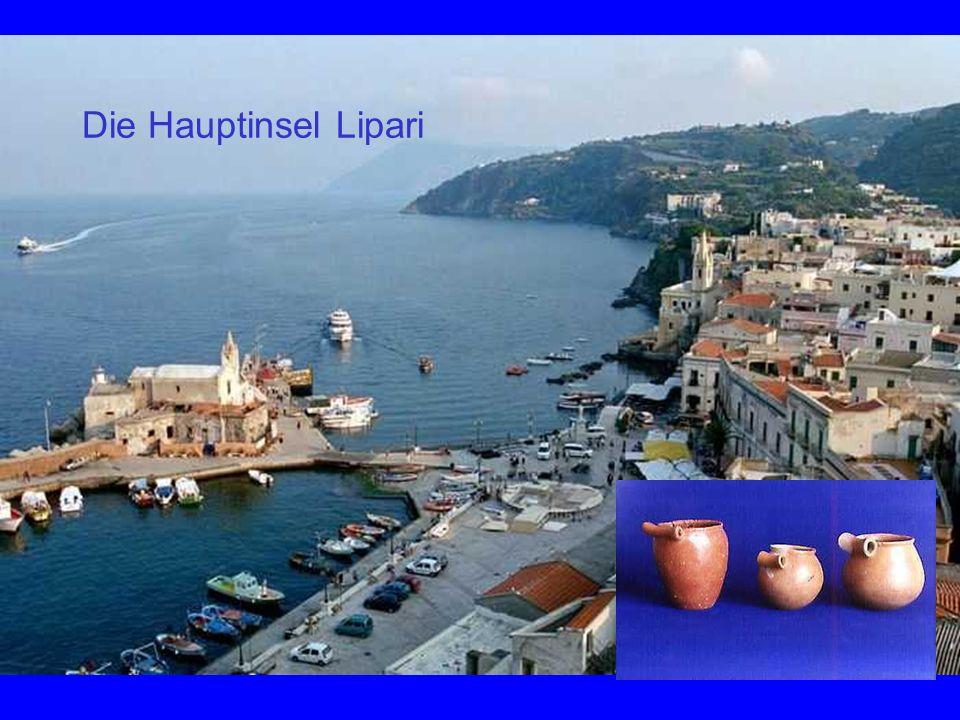 Die Hauptinsel Lipari