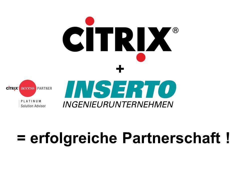 + = erfolgreiche Partnerschaft !