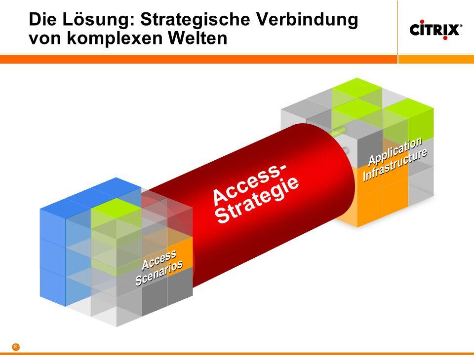 8 Die Lösung: Strategische Verbindung von komplexen Welten Access- Strategie