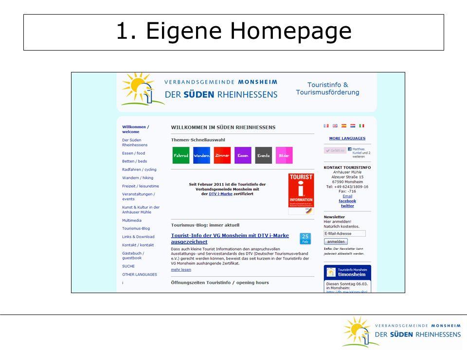 1. Eigene Homepage