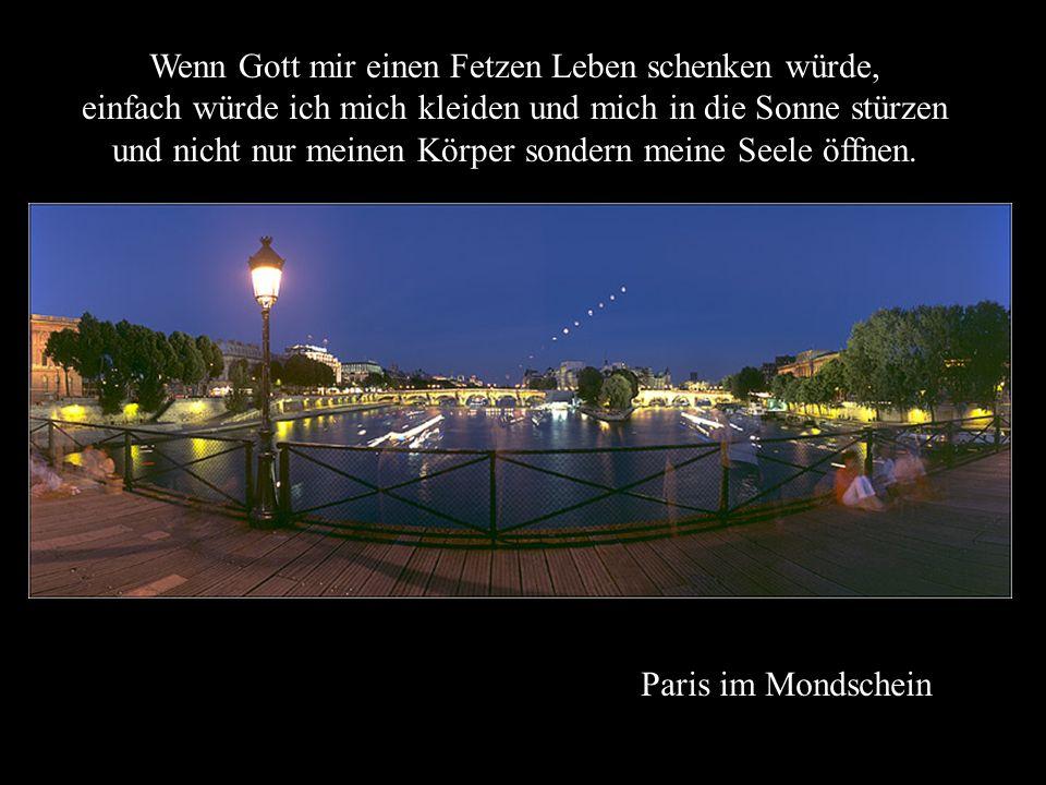 Fontaine Médicis im Jardin du Luxembourg Ich würde gehen, wenn andere stehen bleiben, und aufwachen, wenn andere schlafen.
