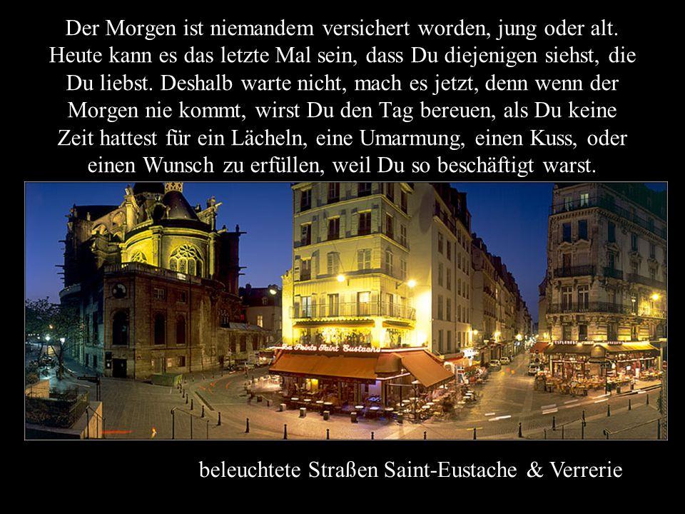 Montmartre Es gibt immer einen Morgen und das Leben gibt uns immer eine andere Chance, die Dinge gut zu machen. Aber was ist, wenn ich mich irre und d