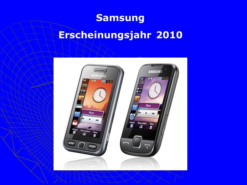 Samsung Erscheinungsjahr 2010