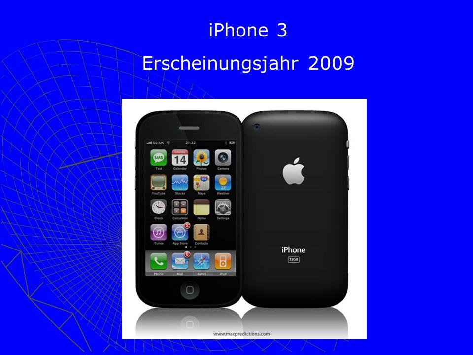 iPhone 3 Erscheinungsjahr 2009