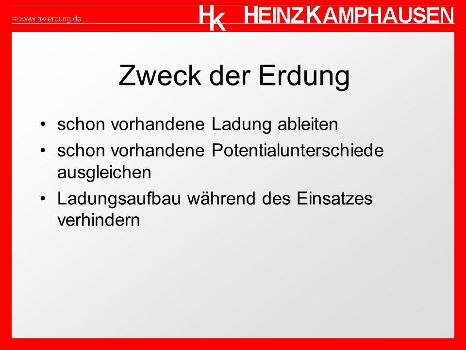 Hinweise Die BGR 132 (ZH 1/200), das Merkblatt BGI 623 (ZH 1/327), alle einschlägigen Vorschriften und der Stand der Technik müssen beachtet werden Das Erdungsmaterial und die Geräte müssen jährlich und nach jedem Einsatz auf elek- trische Leitfähigkeit nach der Richtlinie BGR 132 (ZH 1/200) überprüft werden Die Überprüfung soll protokolliert werden