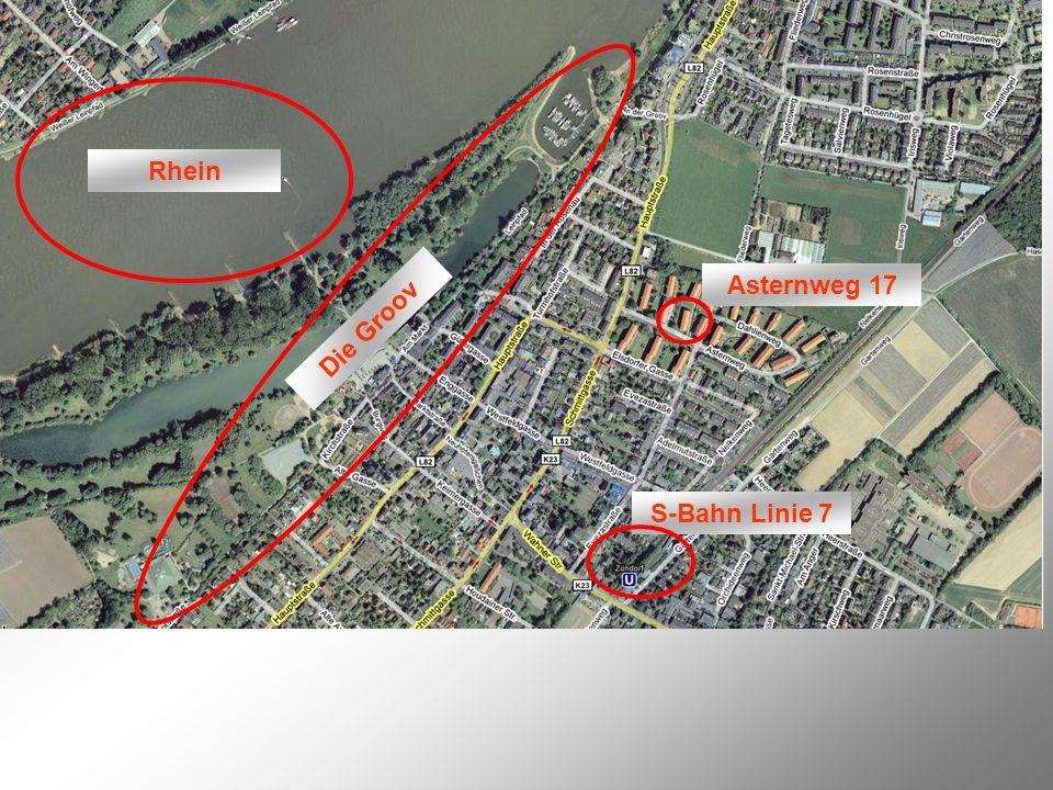 Rhein Die Groov S-Bahn Linie 7 Asternweg 17