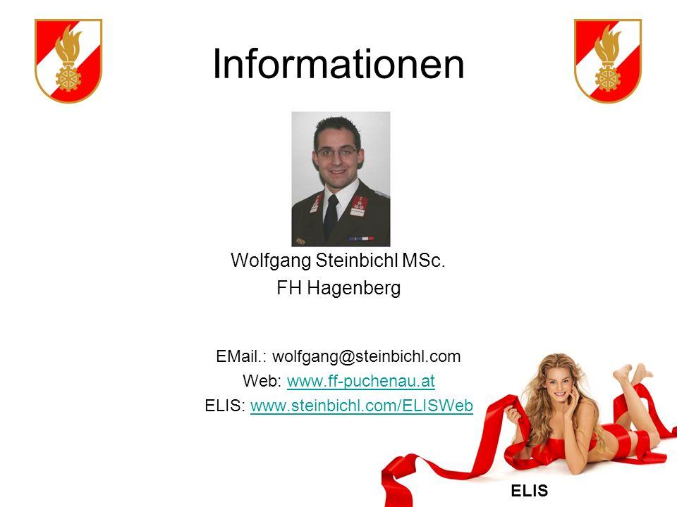 ELIS Informationen Wolfgang Steinbichl MSc.