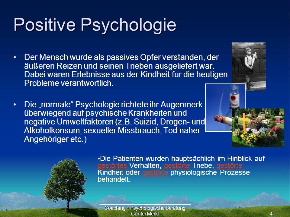 Coaching + Psychologische Beratung Günter Merkl25 Berufsorientierung Der Bundeselternrat (www.bundeselternrat.de) hat gefordert, dass alle Jugendlichen eine gute und fundierte Begleitung bei ihrer Berufswahl erhalten müssen.