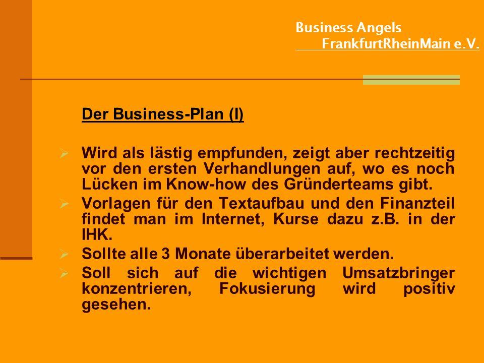 Business Angels FrankfurtRheinMain e.V.