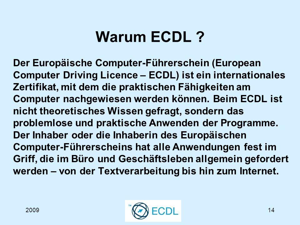 200914 Warum ECDL .