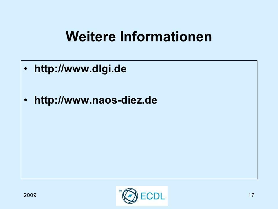 200917 Weitere Informationen http://www.dlgi.de http://www.naos-diez.de
