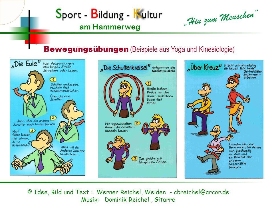 S port - B ildung - K ultur Hin zum Menschen am Hammerweg Gesundheit ( Vernünftig und präventiv) Mutter und Kind Gymnastik Gesundheits Center für Fitn