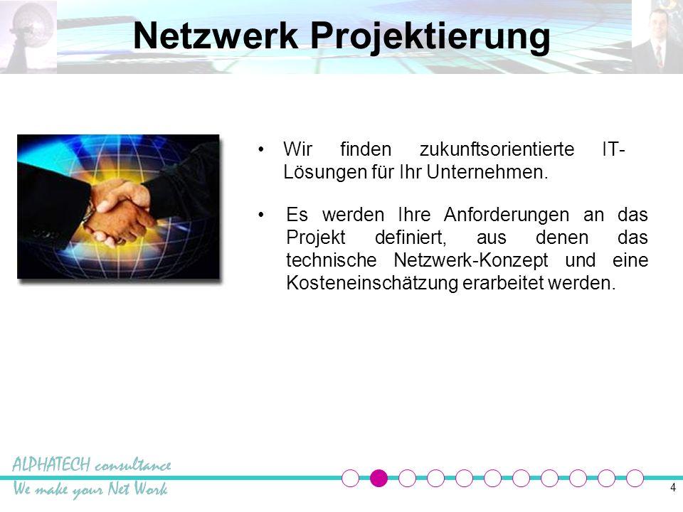 15 IT Betreuung Netzwerke können nur dann richtig funktionieren, wenn sie optimal betreut werden.