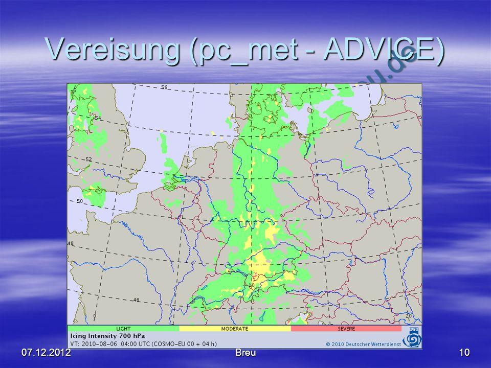 NO COPY – www.fliegerbreu.de Vereisung (pc_met - ADVICE) 1007.12.2012Breu