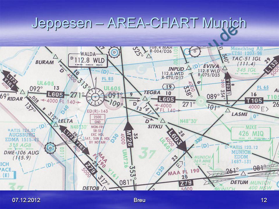 NO COPY – www.fliegerbreu.de Jeppesen – AREA-CHART Munich 1207.12.2012Breu