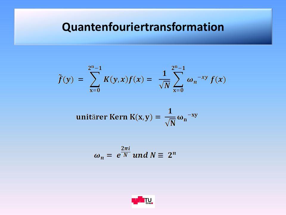 Quantenfouriertransformation
